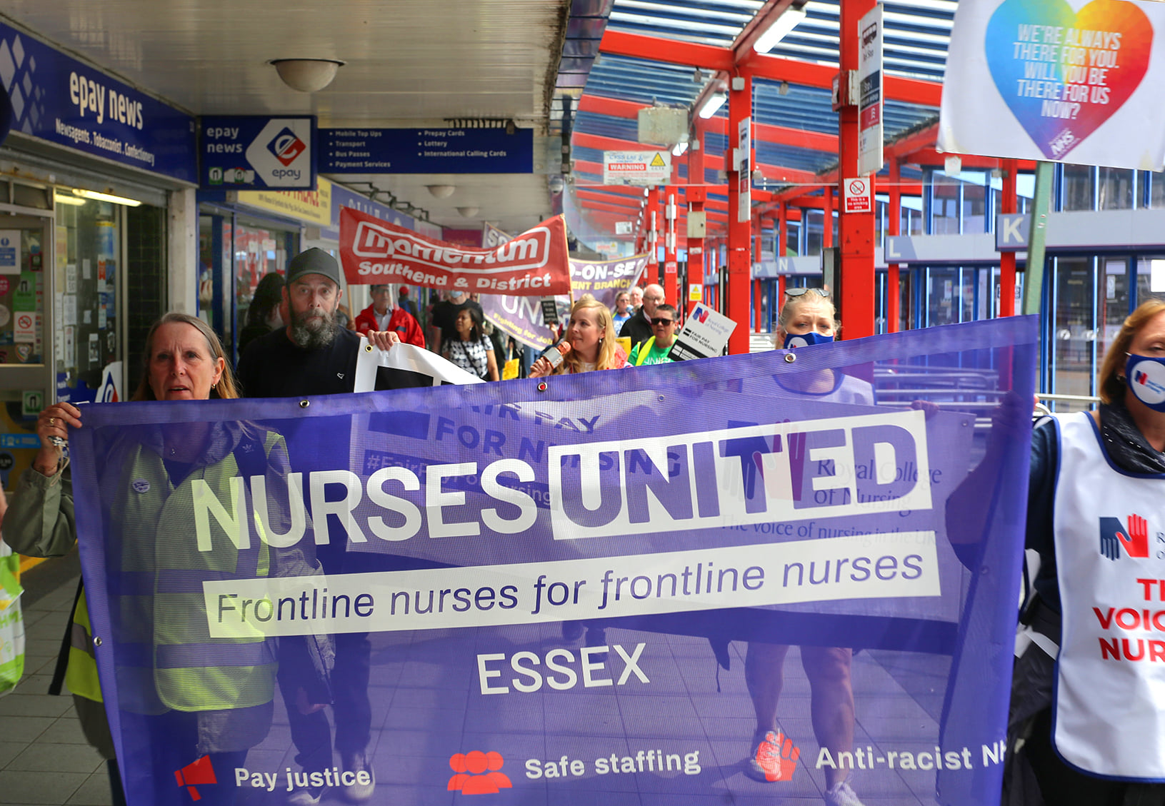 """Basildon march calls for 15% pay rise: """"NHS workers feel undervalued and demoralised"""""""